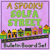 Solfa Street (Halloween Theme): Halloween Music Bulletin Board Printables