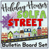 Solfa Street (Winter Holiday Theme): Christmas/Winter Music Bulletin Board