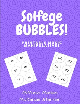Solfege Bubbles