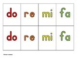 Solfege Cards