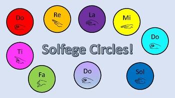 Solfege Circles