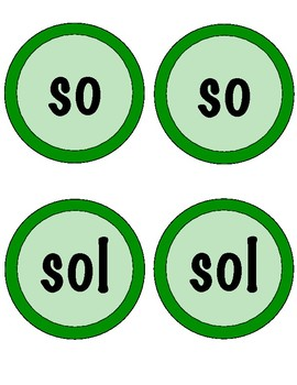 Solfege Composition Cards