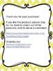 Solfege Curwen Hand Sign Posters - Yellow Chevron Bird Theme - Half sheet size