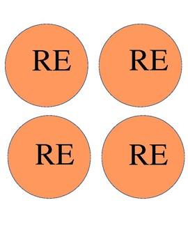 Solfege Cut-Outs for Composition