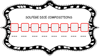 Solfege Dice Game
