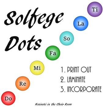 Solfege Dots (Color)