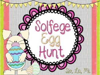 Solfege Egg Hunt