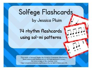 Solfege Flashcards: sol-mi