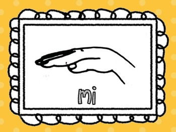Solfege Hand Sign Posters
