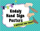 Solfege Hand Signs - Woodland Critters Theme