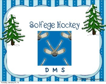 Solfege Hockey DMS