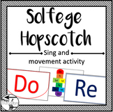 Teaching Solfege Pitch Hopscotch Movement Jumping Game