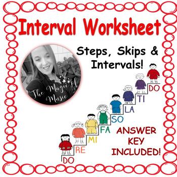 Solfege Interval Worksheet