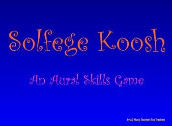 Solfege Koosh Aural Skills Game!