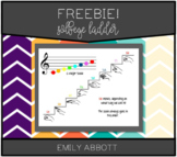Solfege Ladder with Hand Signs
