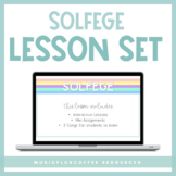 Solfege Lessons for Google Slides™   Distance Learning