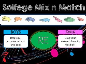 Solfege Mix n Match