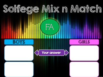 Solfege Mix n Match