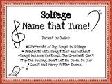 Solfege Name That Tune!