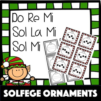 Solfege Ornaments | Two Line Staff