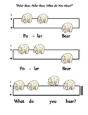 "Solfege Poster for Brannick/Carle's ""Polar Bear, Polar Bear, What Do You Hear?"""