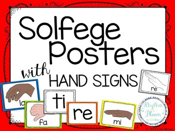 Solfege Posters