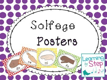 Music Solfege Posters