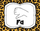 Solfege Posters {Curwen Hand Signs--Animal Print, TWO sizes}