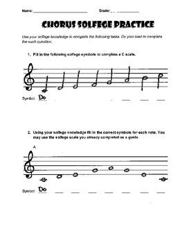 Solfege Practice