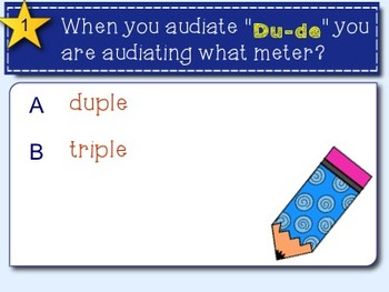 Solfege Quiz:  Labeling Major, Minor, Duple and Triple
