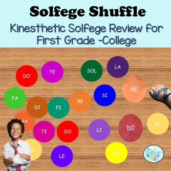 Solfege Shuffle Singing Motivational Activity