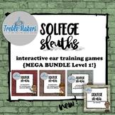 Solfege Sleuths {MEGA BUNDLE! Level 1}