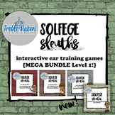 Solfege Sleuths {MEGA BUNDLE! Level 1}