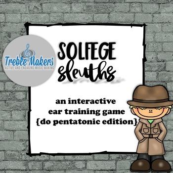 Solfege Sleuths {do pentatonic edition}