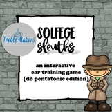 Solfege Sleuths {do pentatonic edition}