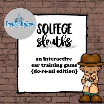 Solfege Sleuths {do-re-mi edition}