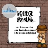 Solfege Sleuths {do-re-mi edition}