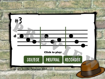 Solfege Sleuths {high do' edition}