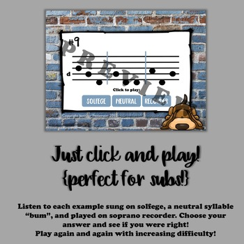 Solfege Sleuths {low so edition}