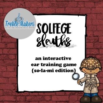 Solfege Sleuths {so-mi-la edition}