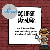 Solfege Sleuths {so-mi-la edition}
