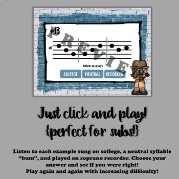 Solfege Sleuths {ti edition}