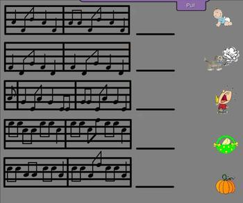 Solfege Song Matching BUNDLE