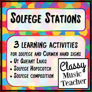 Solfege Stations
