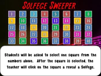 Solfege Sweeper!