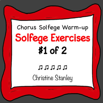 Solfege Syllable Exercises (#1 of 2)