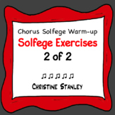 Solfege Syllable Exercises 2 of 2