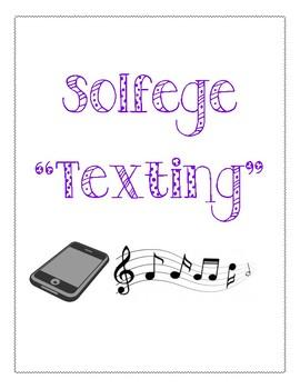 """Solfege """"Texting"""" Bundle"""