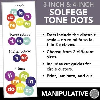 Solfege Tone Dots