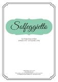 Solfeggietto - Carl P. E. Bach Score for Piano - Unlimited Prints